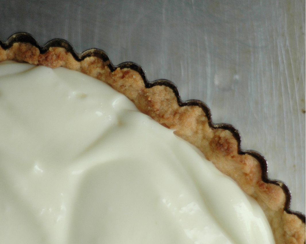 Buttery Shortbread Crust and Key Lime Tart Filling