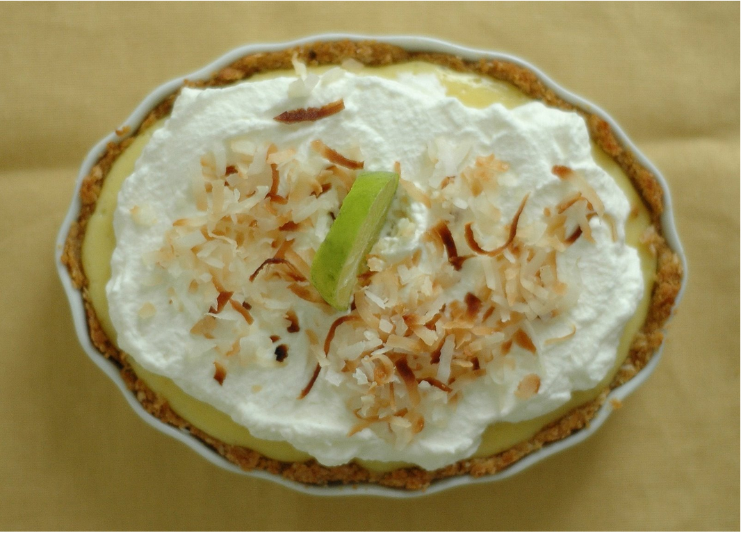 Key Lime Tart with Coconut Crust
