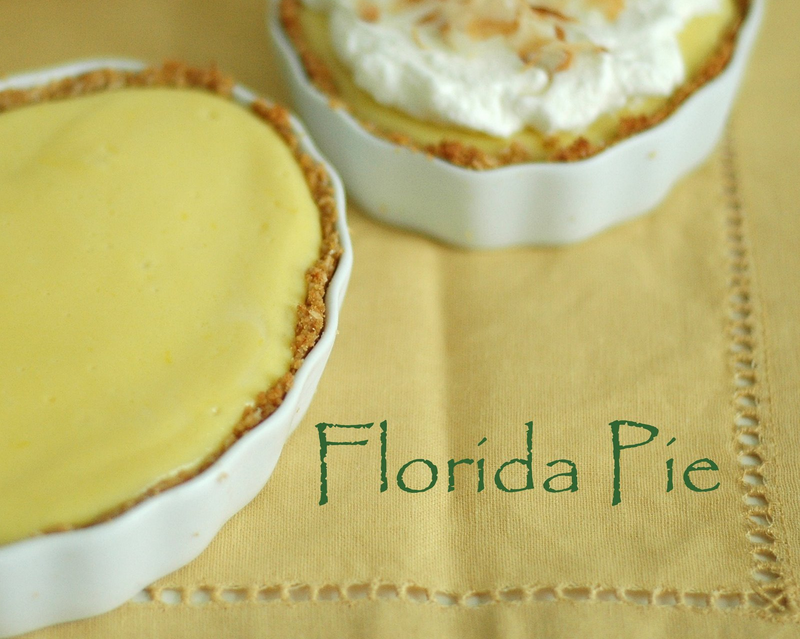 Dorie Greenspan's Florida Pie