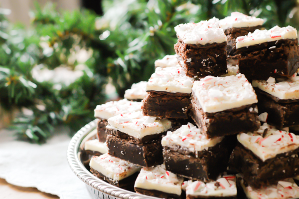 Peppermint Bark Brownies-10