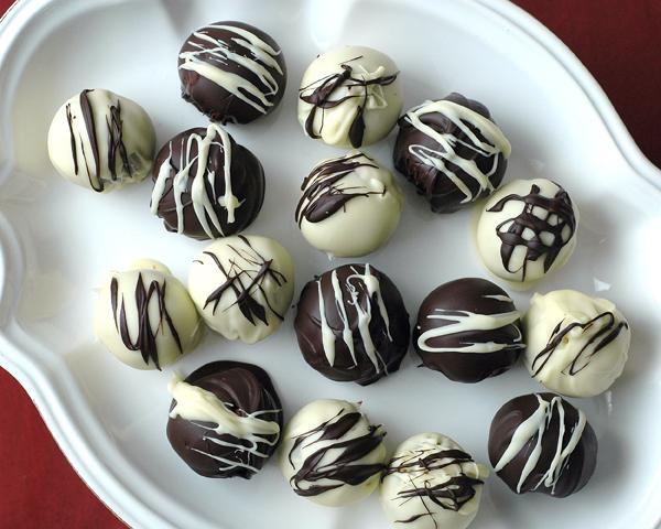 red velvet bonbons