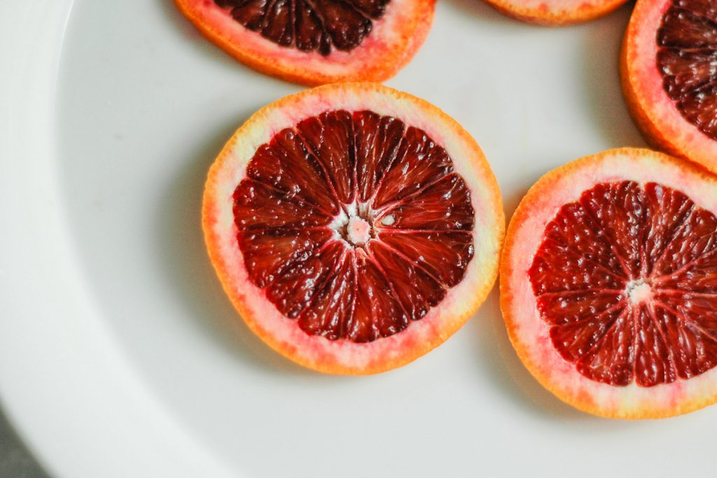 Blood Orange Sherbet | CafeJohnsonia.com