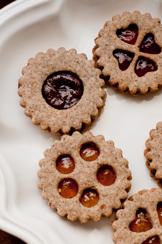 gluten free vegan linzer cookies cafe johnsonia