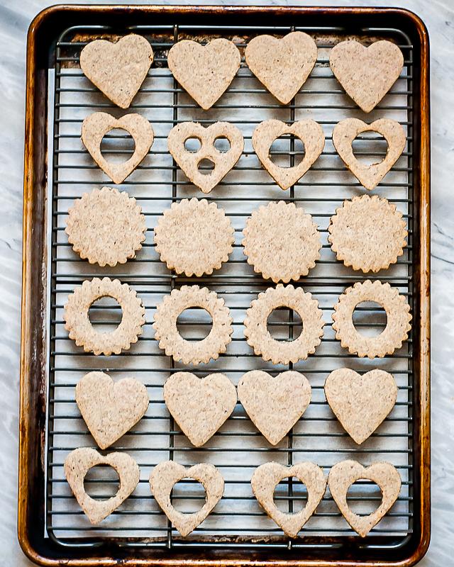Gluten-Free Vegan Linzer Cookies | CafeJohnsonia.com #glutenfree #vegan