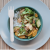vegetable stir fry with miso vinaigrette