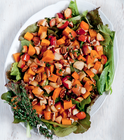 roasted butternut salad