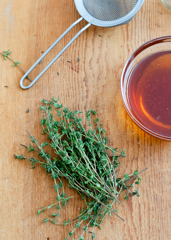 Honey Thyme Homemade Cough Syrup | Cafe