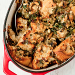 kale and porcini stuffing recipe