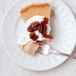 gluten-free maple custard tart