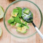 marinating avocados