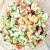 avocado, red pepper, citrus cucumber salad