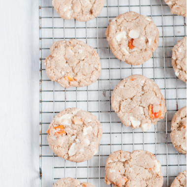 macadamia mango white chocolate cookies