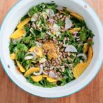 loaded raw kale salad