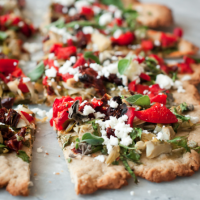 greek veggie pizza