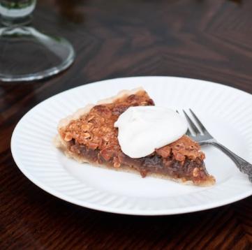 gluten free oatmeal pecan tart