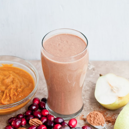 cranberry pumpkin smoothie