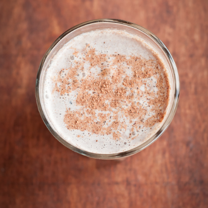gingerbread spiced eggless eggnog