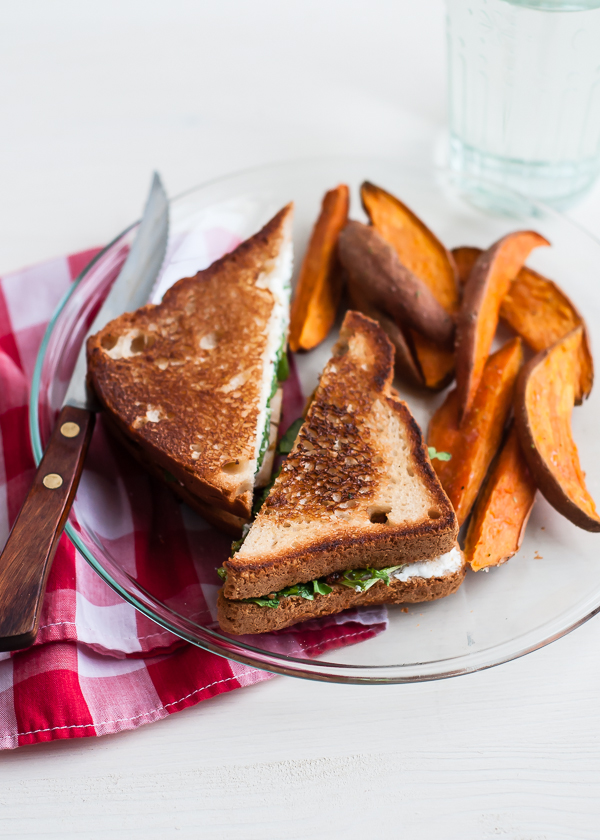 grilled chicken sandwich sweet potato fries