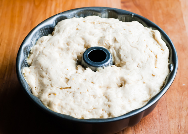 orange cardamom gf yeast dough raised