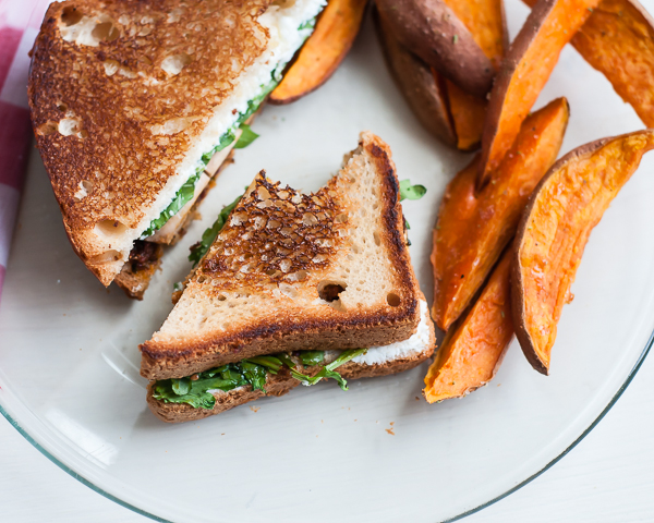 sweet potato fries chicken sandwich