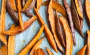sweet potato fries with rosemary salt