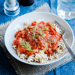slow cooker tomato sauce with fennel500