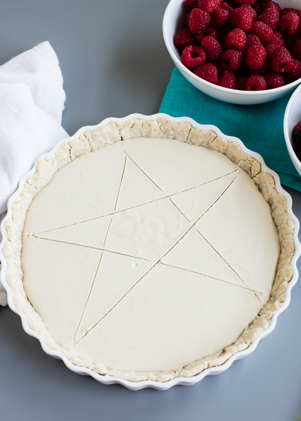 4th of July Berry Cream Tart