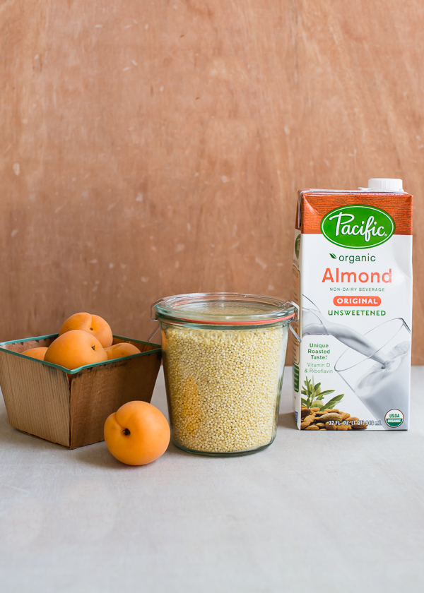 Millet Pudding Ingredients Pacific Foods Almond Milk
