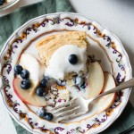 Gluten-Free Grilled Skillet Cake with Fruit-9