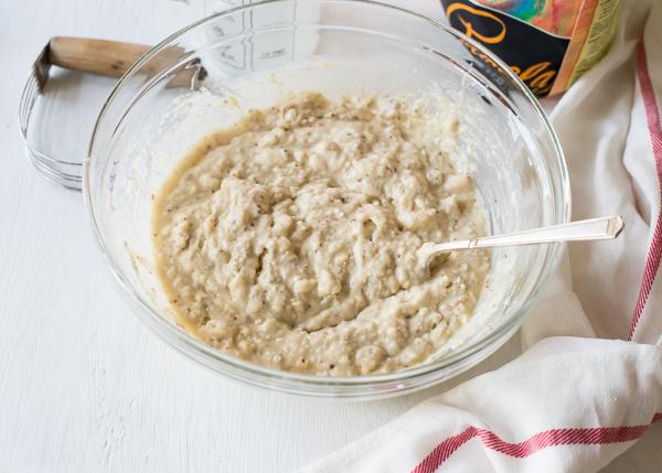 gluten-free skillet cake batter-3