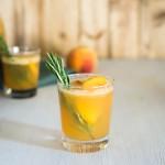 Peach + Rosemary Two Ways