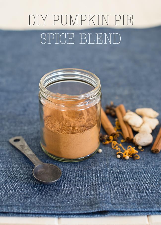 Homemade Pumpkin Pie Spice Blend