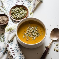 Slow Cooker Pumpkin Soup-2