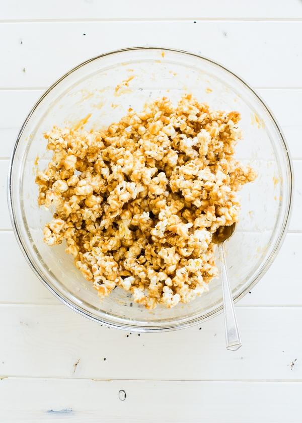 Miso Black Sesame Caramel Popcorn Balls Ingredients-4