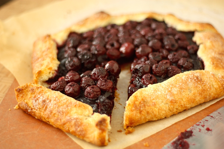 Cranberry Cherry Galette Recipe _ Project Domestication 1