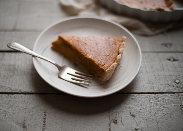Curried Vegan Pumpkin Pie-4