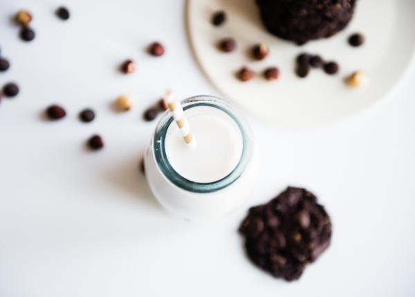 Flourless Hazelnut Chocolate Cookies-7