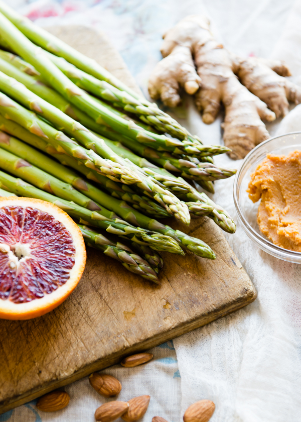 Blood Orange Asparagus Salad-7