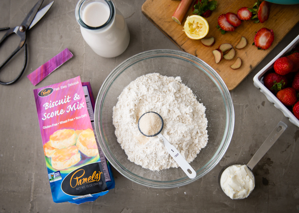 pamela's products biscuit topping