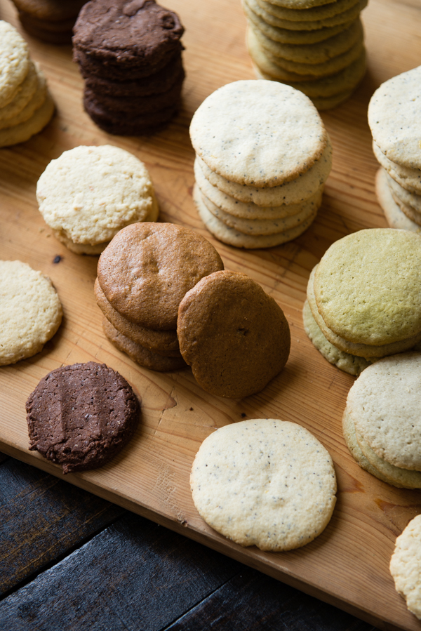 5 Varieties Gluten-Free Cookies Stacked-4