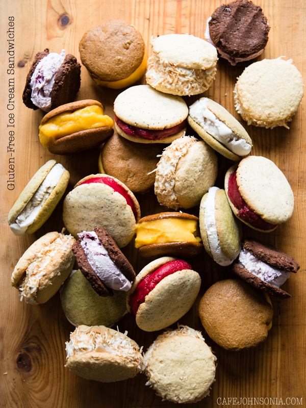 5 Varieties of GF Ice Cream Sandwiches