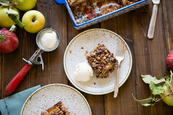 Apple Pecan Oat Bars-25