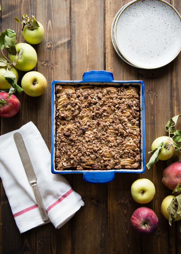 Apple Pecan Oat Bars-33