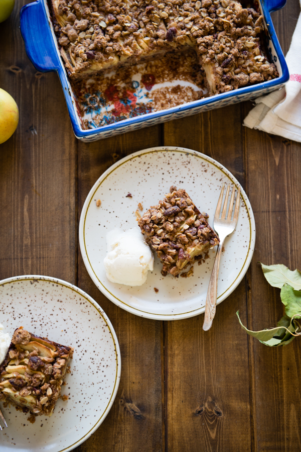 Apple Pecan Oat Bars-37