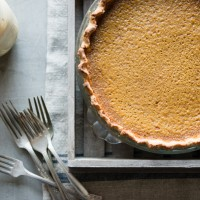 Buttermilk Pumpkin Pie with Gluten-Free Crust