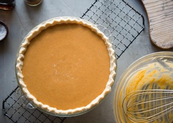 Buttermilk Pumpkin Pie filling-5