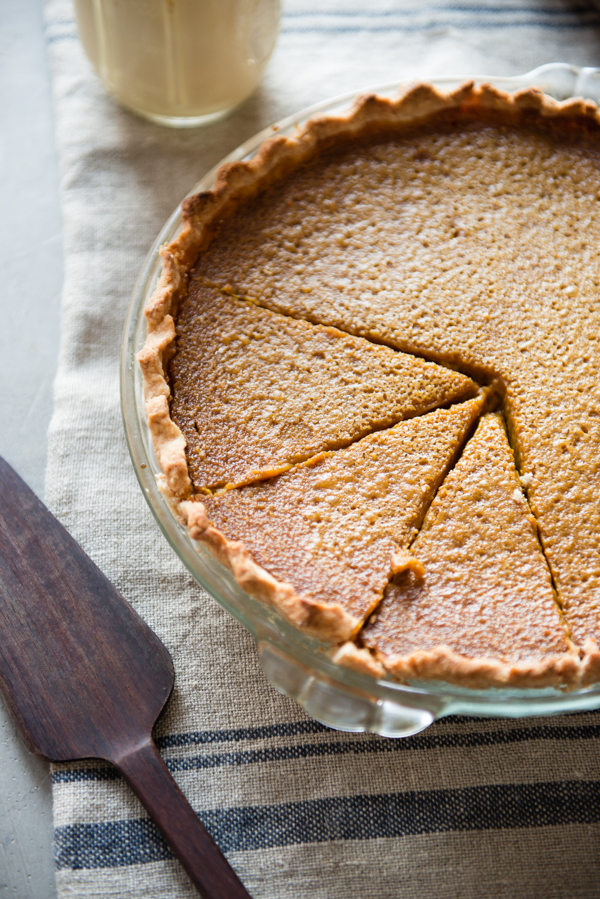 Gluten-Free Buttermilk Pumpkin Pie-6