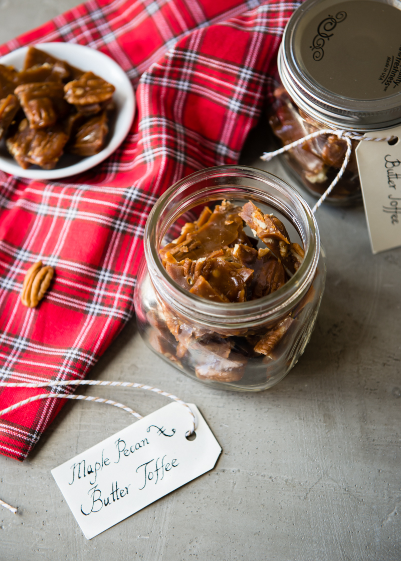 Maple Pecan Butter Toffee-5