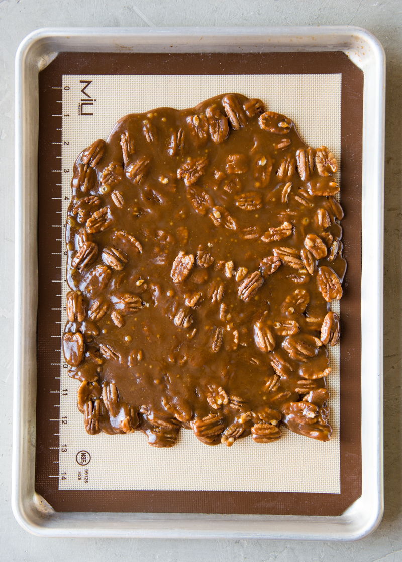 Maple Pecan Butter Toffee