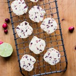 Recipe for Gluten Free Cranberry Lime Cornmeal Cookies